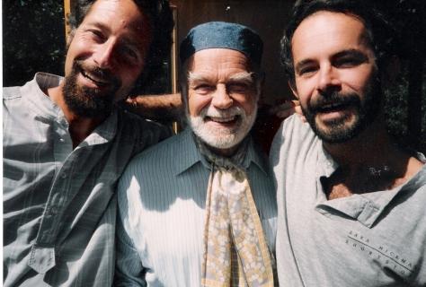 Joel Silver, James Broughton, and Don Shewey
