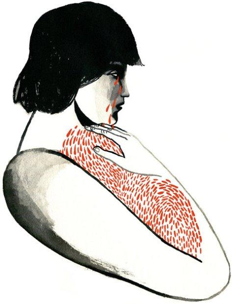 grief illo by arianna vairo